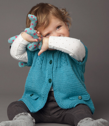 Cable Baby Jacket