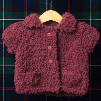 Bombon Collared Baby Jacket