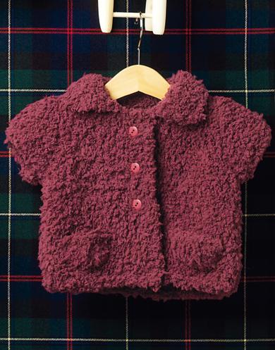 Bombon Collared Baby Jacket