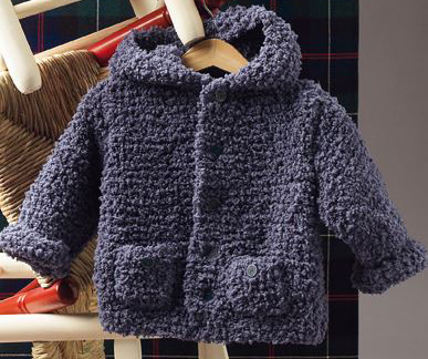 Bombon Hooded Baby Jacket