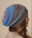 Silk-Mohair and Merino Hat