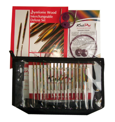 Symfonie Wood Interchangeable Needle Deluxe Set