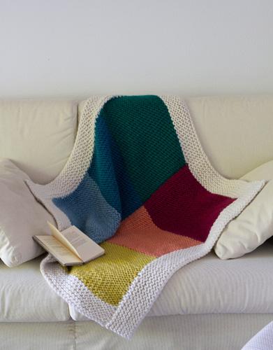 love wool coloured blanket