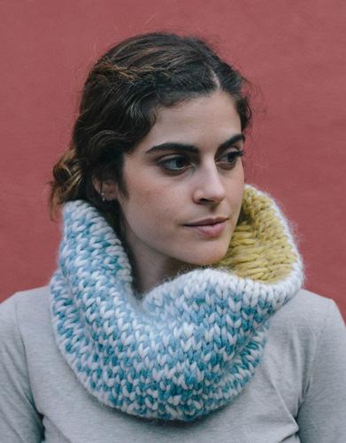 love wool reversible neck warmer
