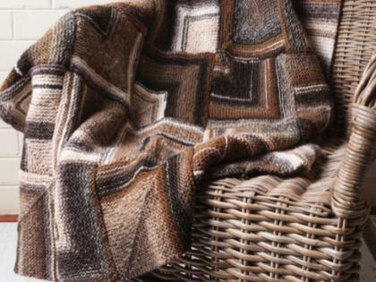 Free Diagonal Blanket Pattern – Azteca