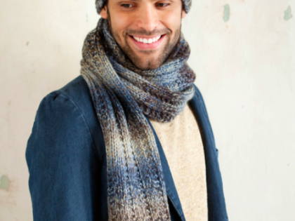 Free MontBlanc Hat and Scarf Pattern